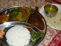 ネパールカレーセット(A)