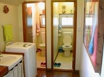 洗面所とトイレB