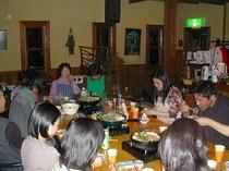 OB会夕食すき焼きパーティー