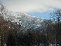 稜線が、スキー場です