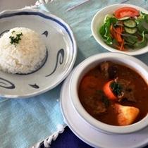 夕食ーニュージーランド風 フルコース 一例です