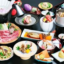 13品のコース料理@夕食
