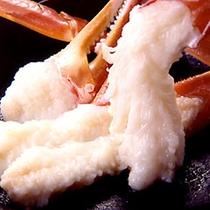【蟹刺し】ぷりぷりあま〜い!!ブランド津居山ガニの絶品蟹刺し♪(一例)