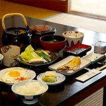 【朝食】朝はやっぱり和定食♪素朴な味が身体に優しい★