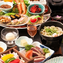 土佐郷土料理「皿鉢料理」