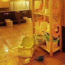 女性大浴場お子様おもちゃ