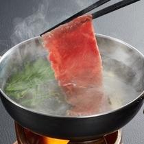 熟成肉の温泉しゃぶしゃぶ