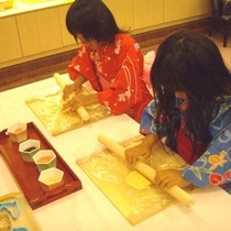 手造りクッキー体験