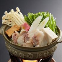 旬彩美味会席 あんこう鍋