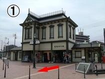 01_ノスタルジックな雰囲気の道後温泉駅