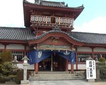 伊佐爾波神社(当館すぐ横)