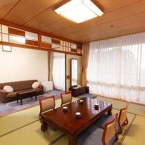 和室10畳 前室ソファールーム付(2017年2月リニューアル済)