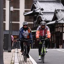 サイクリングにも人気