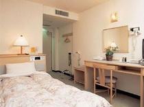 シングル室内(■客室内線電話、無し)
