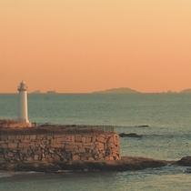 ◆灯台(夕暮れ)