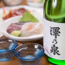 *お夕食一例/宮城の良質な米と水で醸した、自然と文化が創り出す銘酒とともに。
