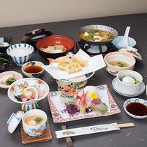 *【ゆうゆう会席】富山の旬を満喫できる全13品の会席