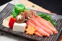 選べる鍋(蟹しゃぶ)イメージ
