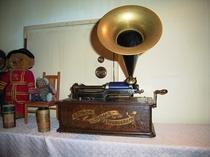 エジソン式蝋管蓄音機
