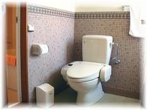 デラックスシングル ダブルのトイレ
