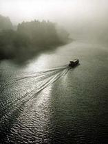川霧と舟下り
