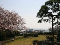 那珂湊公園から太平洋を一望