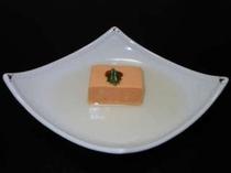 あん肝豆腐(一例)