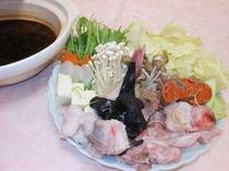 あんこう鍋(3人盛)あん肝を練りこんだ特製味噌仕立(一例)