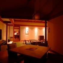 【部屋】別邸「個止吹気亭」ロイヤルスイート(和洋室)180号室<イメージ>