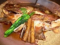 鯛のカブト甘辛煮