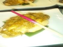 信州サーモンの蕗味噌焼 コース一例