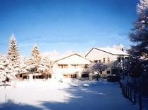 ヒュッテ冬の全景
