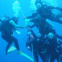 渡嘉敷島体験ダイビング1