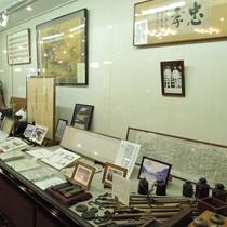 *創業江戸時代の歩み展示コーナー