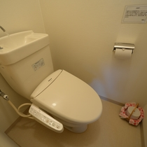 *トイレは洗浄機付便座を完備しております