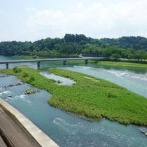 全室球磨川に面しており眺望抜群です