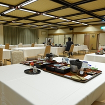 *朝食会場:ご利用人数によりレストラン又は広間になります
