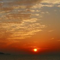 駿河湾の夕陽4
