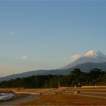 富士と駿河湾