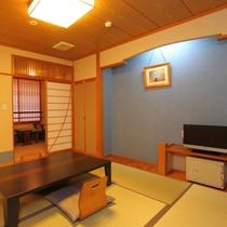 【最上階展望風呂付和室8畳】しっとり落ち着いた雰囲気♪河口湖&富士山ビューです