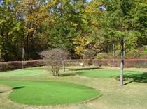 ミニパターゴルフ(3ホール)♪♪