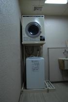 洗濯室(洗濯機&乾燥機)