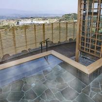 【露天風呂】開放感いっぱいの露天風呂でのんびりと♪