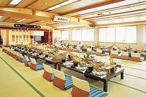 大宴会場(舟盛り料理)