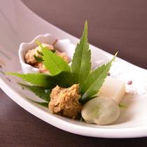 *お夕食一例(前菜)