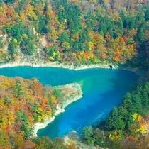 秋の田代湖