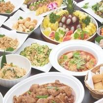 【夕食バイキング】沖縄の家庭料理を召し上がれ♪