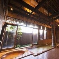 ◆クラシックな魅力を醸している大浴場『奥の湯万葉』・