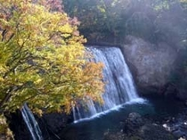 勝沼堰堤 祇園の滝