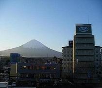 富士山とルートイン